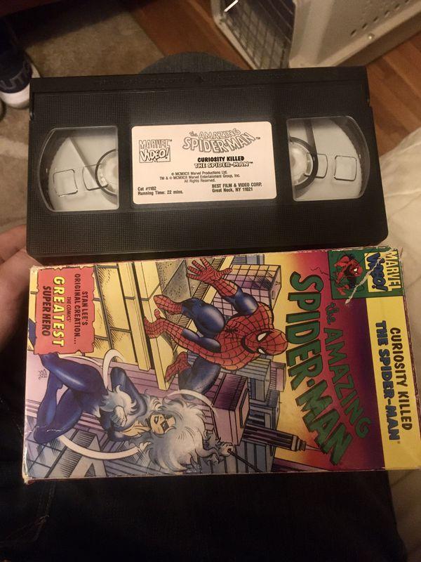 VINTAGE 1981 SPIDER-MAN VHS