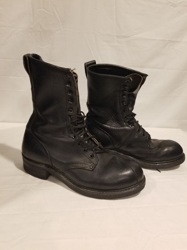 Builtrite Military Linesman Police Fire Steel toe Work Boot size 13