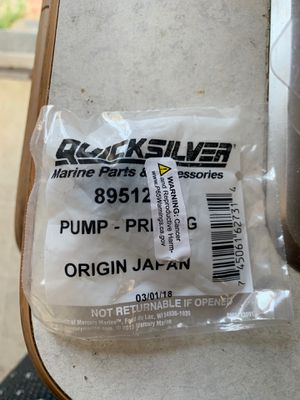 Mercury 9.9 fuel primer bulb for Sale in National City, CA
