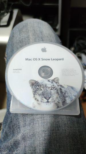Mac OS X Snow Leopard original install disk for Sale in Miami, FL