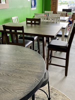 Brand new dining sets, must sell to make room! for Sale in Holts Summit, MO