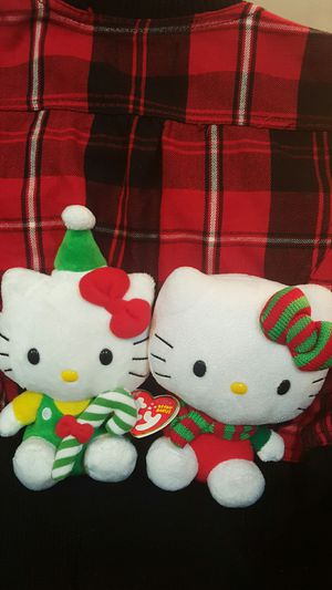 2 ty hello kitty beanie babies for Sale in Westbury, NY