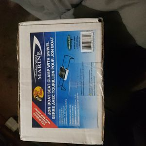Brand New Never Opened Boat Swivel And Clamp Seat for Sale in Tracy, CA