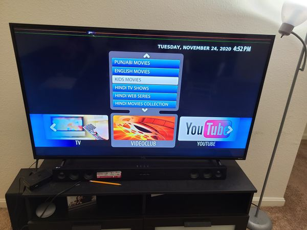 TCL 55 INCH TV