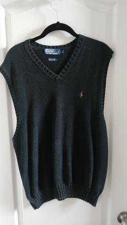 Ralph lauren black vest for Sale in Forest Heights,  MD