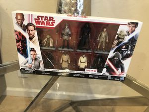 NEW NEW IN SEALED FACTORY PACKAGE/BOX 8 PACK = (8) EIGHT Action Figures total are inside the box. brand: HASBRO - DISNEY Series: STAR WARS - ERA O for Sale in Fremont, CA