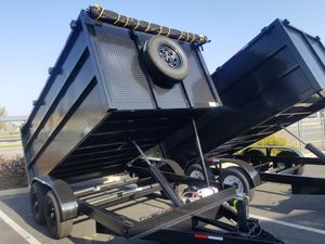 Dump Trailer 8x12x4 for Sale in Los Angeles, CA
