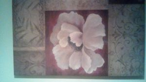 Large floweral painting canvass for Sale in El Cajon, CA