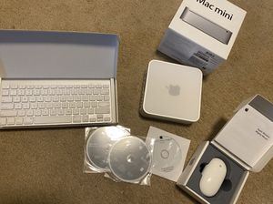 Apple Mac Mini + wireless Mighty Mouse + wireless Apple keyboard for Sale in Portland, OR