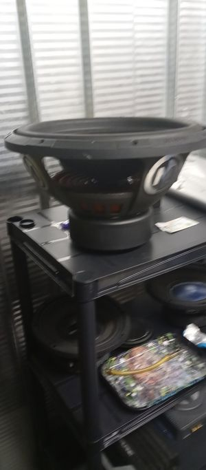 Subwoofers on deck 8's 10's 12's 15's 18's for Sale in Denver, CO
