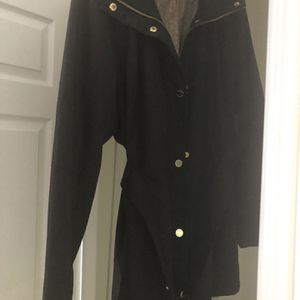 Michael Kors Black Trench Coat Xl for Sale in Kerman, CA