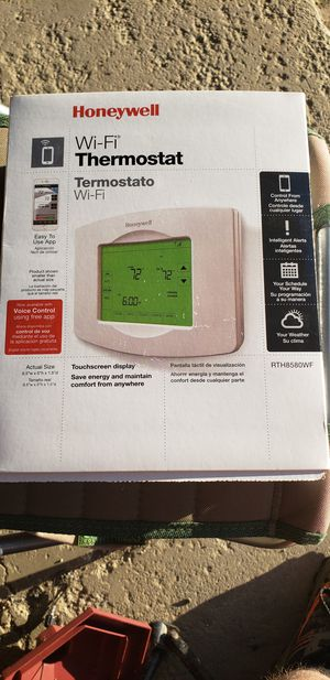 Honeywell wifi thermostat for Sale in Medina, OH