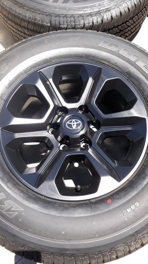 """BRAND NEW 17"""" TOYOTA TACOMA 4RUNNER SEQUOIA TUNDRA WHEELS RIMS 100% for Sale in Torrance, CA"""