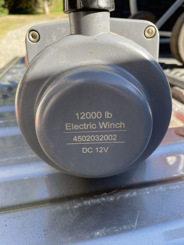 Ridge Ryder Winch - 12k lbs