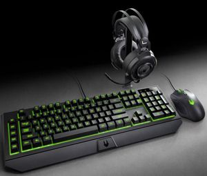 Lexma Phantom Gaming Starter Kit with Headset, Mouse and Keyboard - Black . for Sale in Rancho Cucamonga, CA