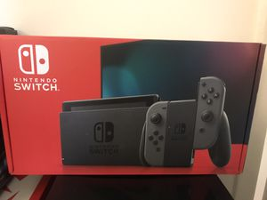 Nintendo Switch V2 Gray Console for Sale in Edgewater, NJ