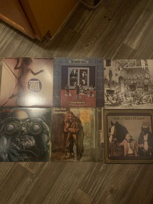 JETHRO TULL VINYLS LPs ALBUMS 6 total lot for Sale in Mesa, AZ