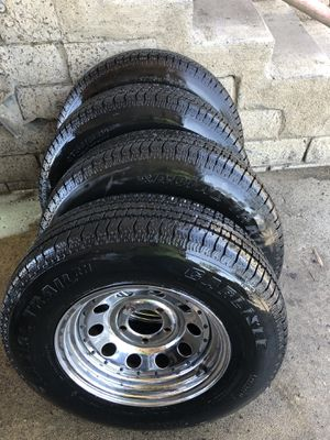 Trailer wheels & tires for Sale in Los Angeles, CA