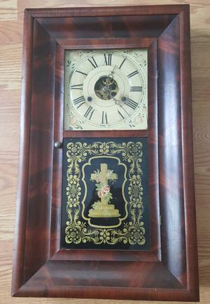 Antique Seth Thomas Religious Cross Wall Clock for Sale in McKeesport, PA