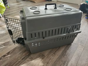 Pet Carrier/Dog Carrier/Cat Carrier with water and food dish for Sale in Ocean Shores, WA