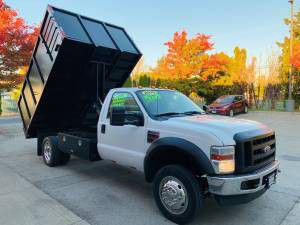 2010 FORD F450 DIESEL 12FT DUMP TRUCK for Sale in Portland, OR