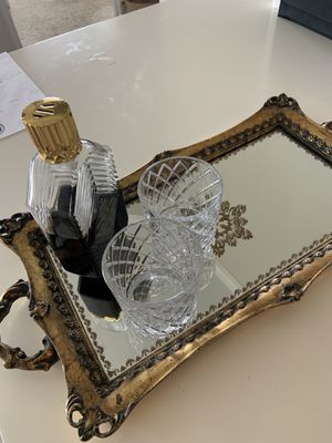 Antique Unique Mirror Whiskey / Drink Stand 🥃 for Sale in Sarasota, FL