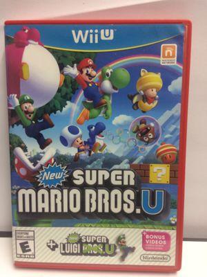 New Super Mario Bros U + New Super Luigi U Nintendo Wii U for Sale in Ridge Farm, IL