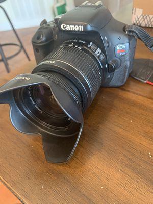 Canon Rebel T3i for Sale in Jamul, CA