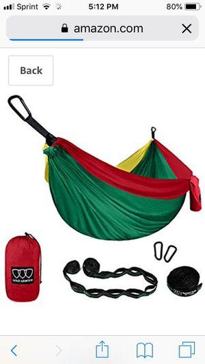 Gold armor camping hammock for Sale in Colorado Springs, CO