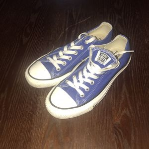 Converse 130127F Chuck Taylor All Star Sneakers Blue Shoes Mens 5 Womens 7 for Sale in Galloway, OH