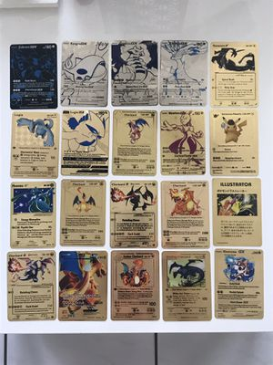 20x Metal Pokemon Cards for Sale in West Palm Beach, FL