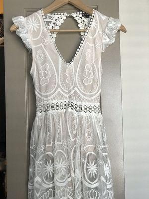 White see through Dress size S for Sale in Atlanta, GA