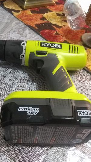 Ryobi drill for Sale in Whittier, CA