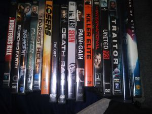 DVDs $25 for all for Sale in Davenport, IA