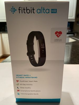 Fitbit Alta HR - bonus 9 additional bands for Sale in Cape Coral, FL
