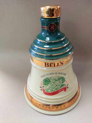 Antique bell bottle whisky for Sale in Miami, FL