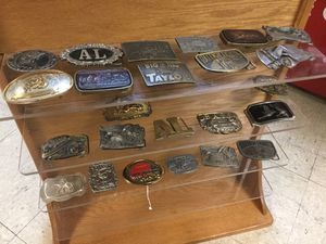 Vintage belt buckles-$25 each for Sale in Norfolk, VA
