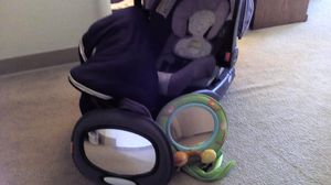 Graco Snugride Car Seat with two bases and stroller for Sale in South Brunswick Township, NJ