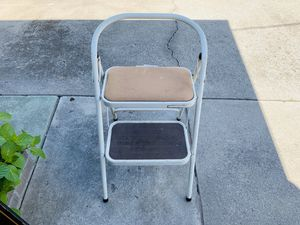 Folding Metal Step Ladder for Sale in Stockton, CA