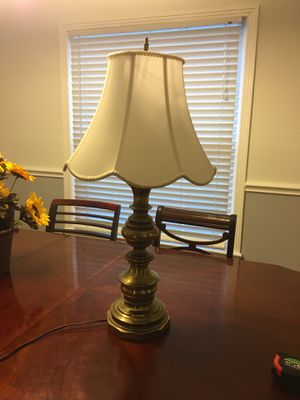Brass lamp , tarnished for Sale in Dallas, TX
