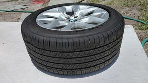 "19"" X5 BMW rims and tire. for Sale in Port St. Lucie, FL"