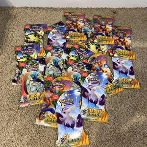 Pokémon XY Roaring Skies Booster Pack Set Of 20 Unopened for Sale in Dunlap, IL