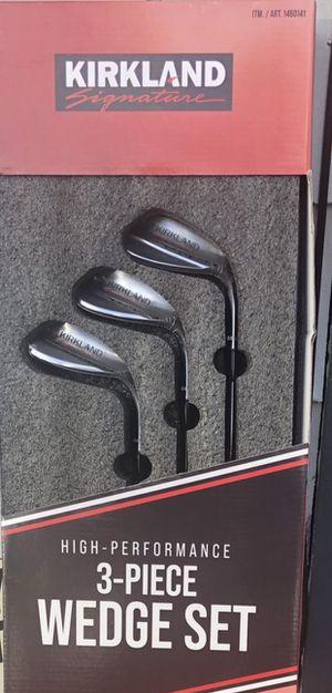 Kirkland signature golf 3-piece wedge set for Sale in Renton, WA