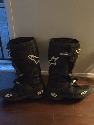 Dirt bike boots for Sale in Escondido, CA