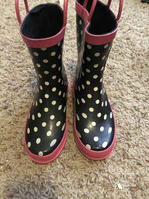 Hello kitty rain boots for Sale in Atlanta, GA