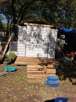 8x12 steel shed for Sale in Hurst, TX