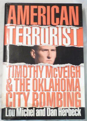American Terrorist Hardback Book for Sale in Ripley, WV