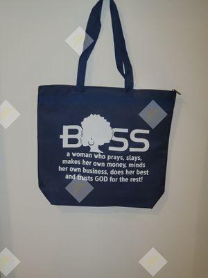 Dark Blue Boss Tote bag for Sale in Greensboro, NC