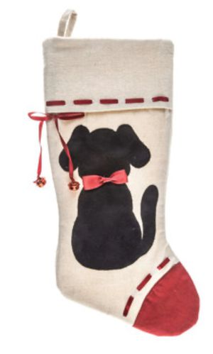 Cute dog Christmas stocking new for Sale in Yorba Linda, CA