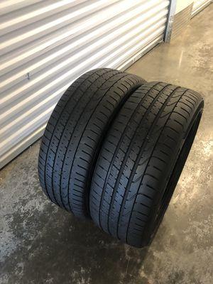 245/40r20 pirelli pzero tires for Sale in Manassas, VA